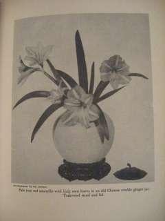 1933 MRS. WALTER HINE ARRANGEMENT OF FLOWERS PHOTOS