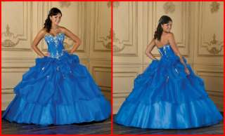 Quinceanera Dress Wedding Dresses Bridal Ball Gown Prom Evening Gowns