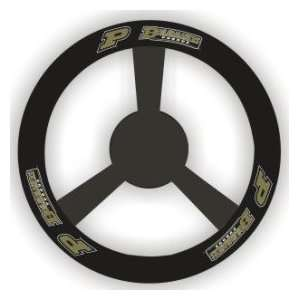Purdue Boilermakers ( University Of ) NCAA Leather Car Steering Wheel