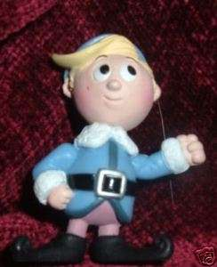 Rudolph Island of Misfit toys Hermey The Elf Figure
