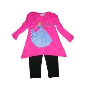 Disney Princess (Cinderella) Toddler Girls 2 pc Set Size