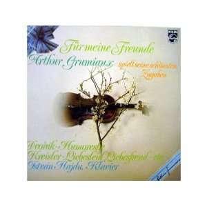 ARTHUR GRUMIAUX Für meine Freunde (Vinyl) Istvan Hajdu