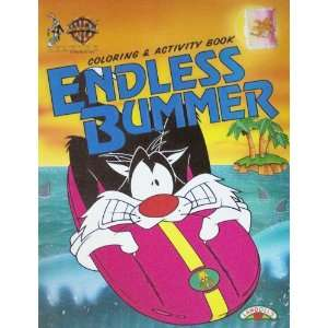 Looney Tunes Endless Bummer Color & Activity Books Toys
