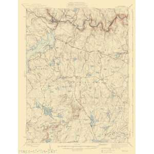 USGS TOPO MAP HAWLEY QUAD PENNSYLVANIA (PA) 1938 Home