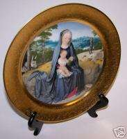 PICKARD CHRISTMAS PLATE REST ON THE FLIGHT INTO EGYPT
