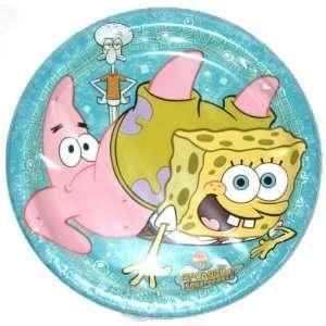 Nickelodeon Spongebob Squarepants 8 Count Dessert Plates Toys & Games
