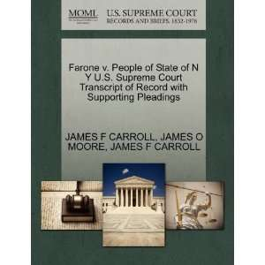 Farone v. People of State of N Y U.S. Supreme Court