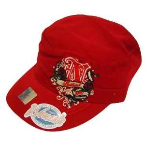 NEBRASKA CORNHUSKER FATIGUE MILITARY WOMEN HAT CAP