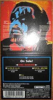 King Diamond The Dark Sides 80mm 3 Mini CD Japan Promo RAREST