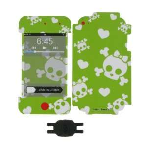 Cutie Skull Design Smart Touch Shield Decal Sticker and Wallpaper