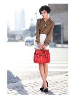DUDU Italy Brand Lady Genuine Leather Messenger Satchel Shoulder Hand