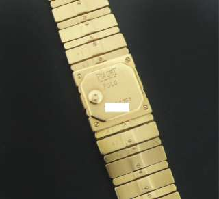 Ladies PIAGET Polo 18k Yellow Gold Diamond Watch
