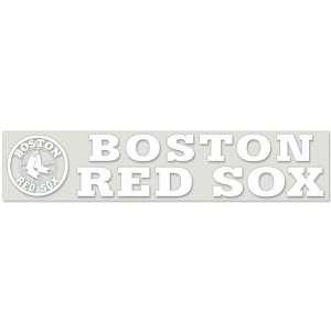Boston Red Sox Decal Die Cut 5 X 25
