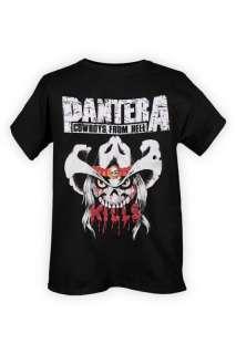 Pantera Cowboys From Hell Kills Black T Shirt Size M