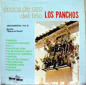 TRIO LOS PANCHOS epoca de oro vol. 2 LP mint  NM 126