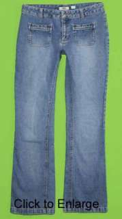 Old Navy sz 8 x 32 Womens Blue Jeans Denim Pants FM26
