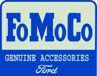 Ford Motor Company FoMoCo Geniune Accessories Tin Sign