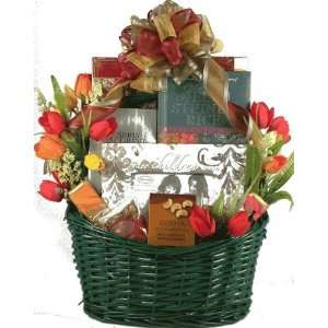 Deluxe Mothers Day Gift Basket For Mom  Grocery & Gourmet