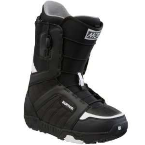 Burton Moto Snowboard Boot   Mens Black/White, 10.0