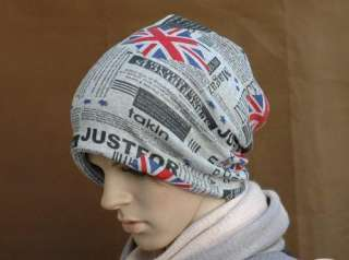New Fashion Personality Men Beanie cap Winter ski hat cotton skull cap