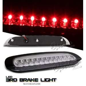 98 99 00 01 FORD EXPLORER XLT XLS CHROME LED 3RD BRAKE