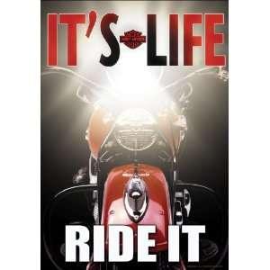 Harley Davidson It s Life, Ride it Garden Flag Patio, Lawn & Garden