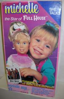 179 NIB Meritus Talking Michelle Doll From Full House