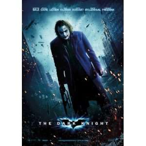 Batman Joker Heath Ledger Dark Knight Movie Poster 27 x 39