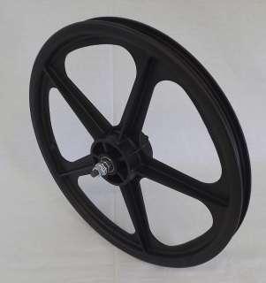 NEW Skyway Tuff II Mag Wheel Black 20 Front Wheel Single Wheel Sealed