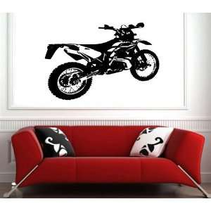 Wall Sticker Mural Vinyl Motorcycles Gas Enduro S6357