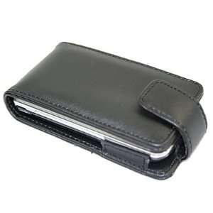 BLACK Flip Case/Cover/Pouch for LG GD900 Crystal Electronics
