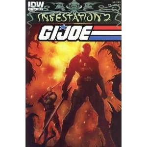 Infestation 2 GI Joe #1 (Cover Chosen Randomly) Mike