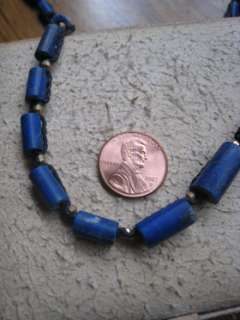 natural LaPis braided necklace NEW PRICE BREAK NO RESERVE!!
