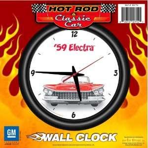 Electra 12 Wall Clock   Hot Rod, Classic Car, Invicta