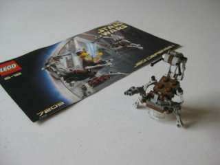 LEGO Star Wars DROIDEKA Destroyer Droid Minifig 7203 Instructions