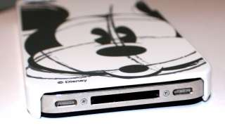 iPhone 4 4G 4S Disney Mickey Mouse Grey SOFT SILICONE RUBBER BACK CASE