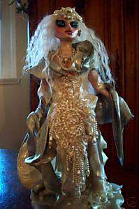NR OOAK Handmade ART DOLL WHITE ICE WITCH OF NARNIA