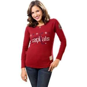Washington Capitals Womens Red 2011 Winter Classic Retro