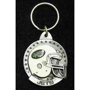 New York Jets Team Helmet Key Ring