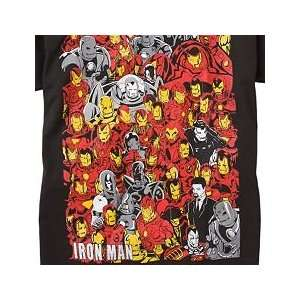 New Marvel Iron Man Mens T SHIRT Sz XL Black