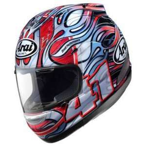 Arai Corsair V Motorcycle Helmet   Haga Rainbow X Small
