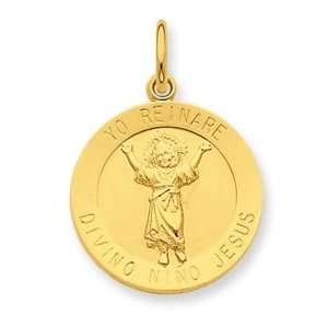 24k Gold plated SS Divino Nino Jesus Pendant (Divine