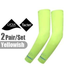 2 Pairs, Elixir Cooling UV Arm Sleeves Cover Sun