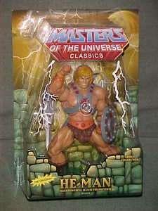 MOTU He Man CLASSICS MASTERS UNIVERSE Mattel 2nd ORIGNL
