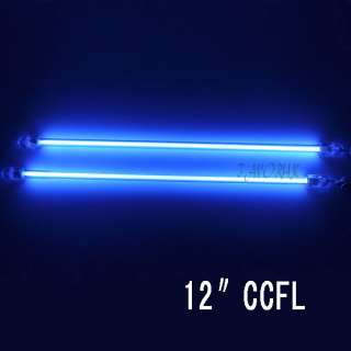 Blue 12 Dual Cold Cathode CCFL Light Mod Kit PC Bright