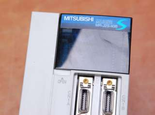MITSUBISHI MR J2S 40B 400W SERVO MOTOR&DRIVER