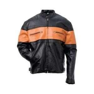 Mens Hand sewn Pebble Grain Genuine Leather Jacket