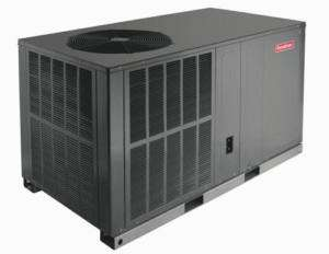 ton Heat Pump package unit Goodman 13 seer Mobile home 410a