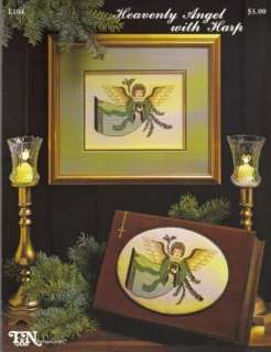 XStitch Pattern   Heavenly Angel with Harp