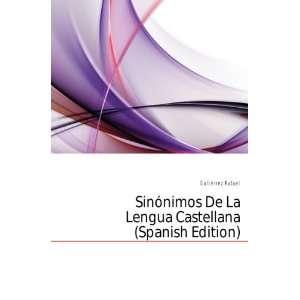 De La Lengua Castellana (Spanish Edition) Gutiérrez Rafael Books